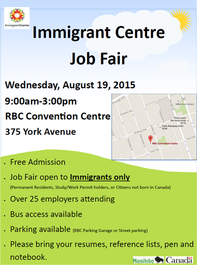 imigrant job fair