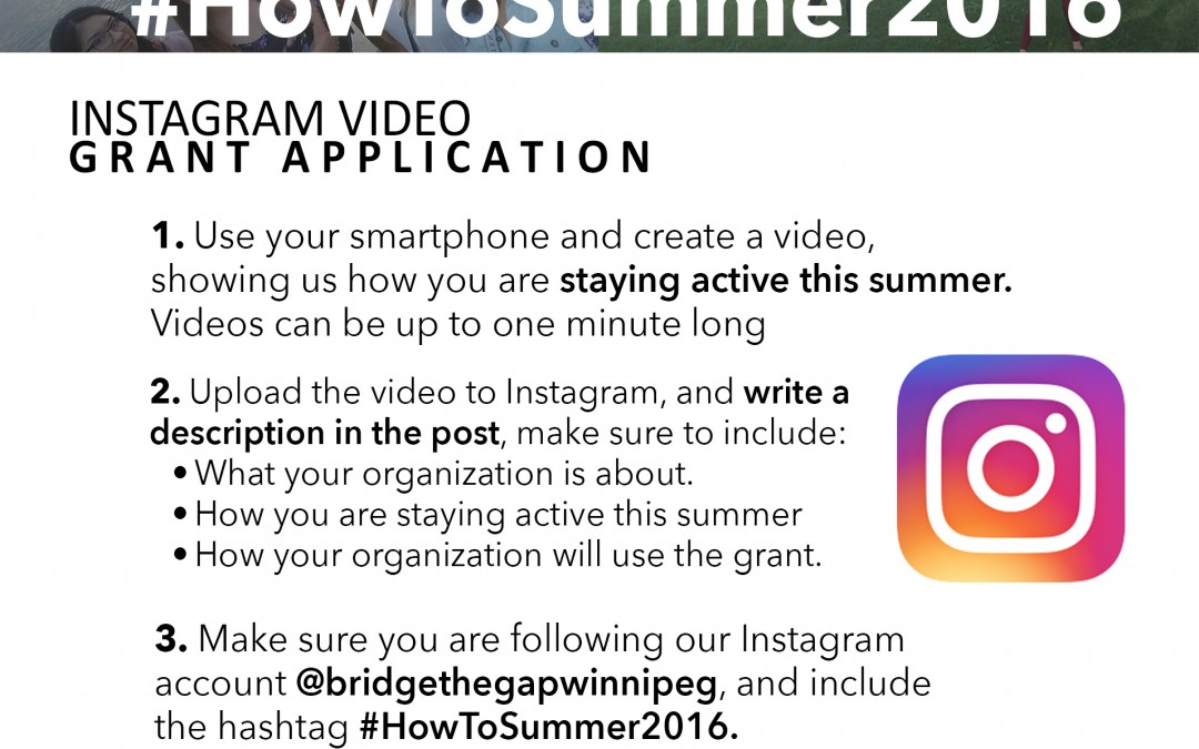 Bridge The Gap & NECRC Instagram Contest – Win $2,000