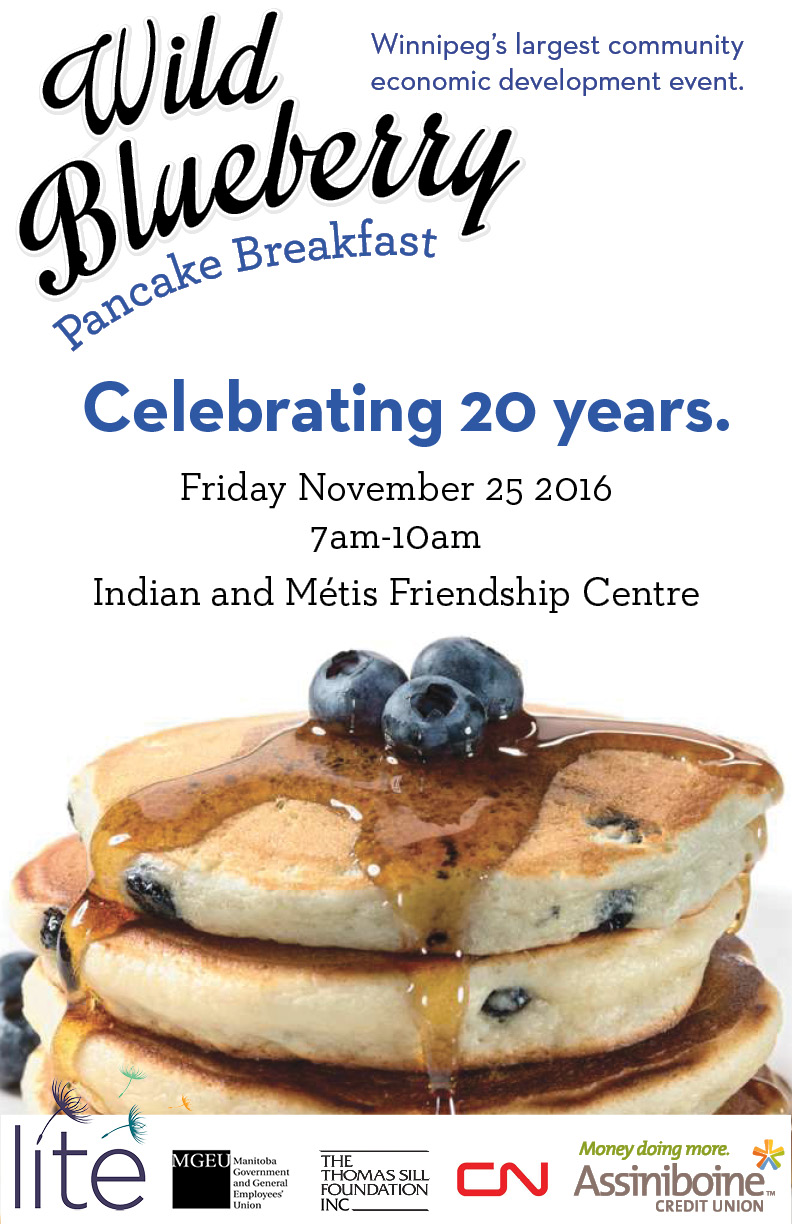 20th Blueberry Pancake Breakfast November 25, 2016