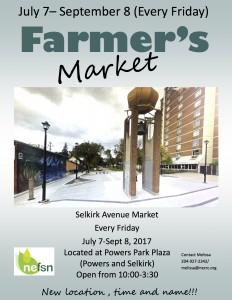 Selkirk Ave Market poster
